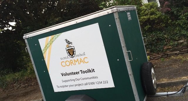 Volunteer trailer